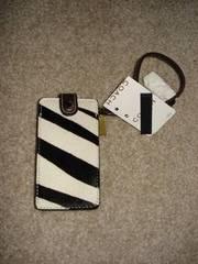 Brand NEW COACH Zebra Mini iPOD Case (Black/White) $30 OBO