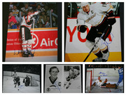 Autographed 8x10 Hockeyé Football Photos + Other Sports