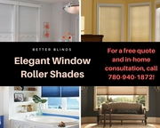 Designer Roller Shades|Fabric Blinds |Better Blinds