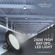 Buy 240w High Bay UFO LED Lights For Maximum Operational Efficiency