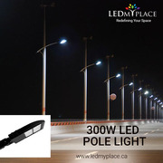 Use 300W LED Pole Lights That are Designed to Enhance the Outer Safety