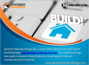 Zentner Steel Buildings Ltd. | Construct steel buildings in Alberta,  C