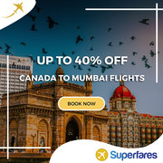 Grab Canada to Mumbai Cheap Tickets | BOM